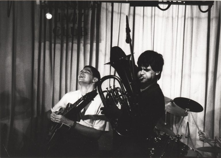 Jeanfrançois Prins + Michel Massot Brussels Jazz Club 2
